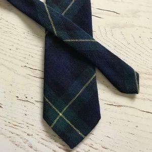 PRINGLE Lochcarron 100% Wool Tie Made in Scotland